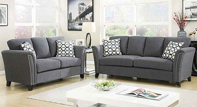 Campbell Sofa and Loveseat